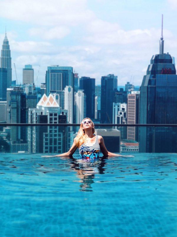 Regalia Suites Upper View Infinity Pool Kuala Lumpur in Malaysia whereismella