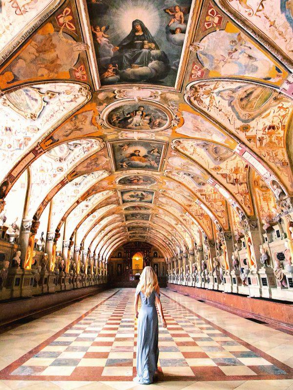 Antiquarium in der Münchner Residenz Deutschland whereismella