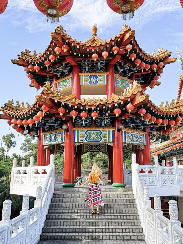 Thean Hou Tempel in Kuala Lumpur Malaysia whereismella